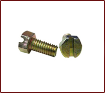 Hex Slotted Bolts & Nuts