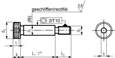 ISO 7379 Technical Drawing